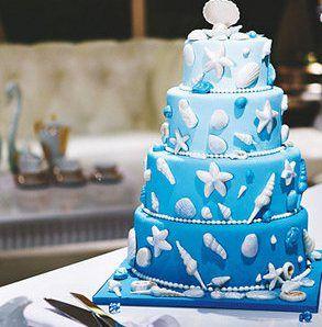 explorez gateau de mariage mariage bleu et plus encore mariage océan