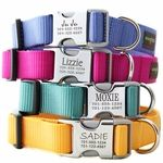 Love this! Personalized dog collars, no more having to tape Melvin's tags together so they don't jingle ever time he moves.