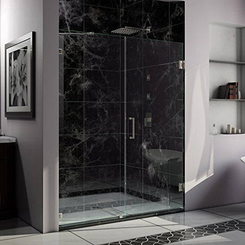 707 Unidoorlux Frameless Hinged 60 Inch Width By 72 Inch Height