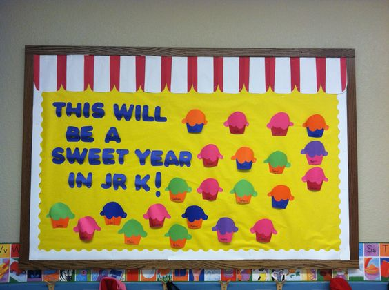 Back to school bulletin board.