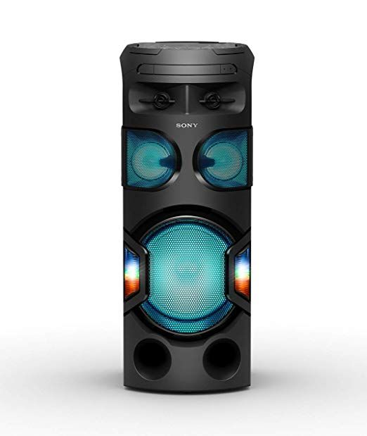 Sony Mhc V71 High Power Home Audio System With Bluetooth Audio System Bluetooth Powered Speakers