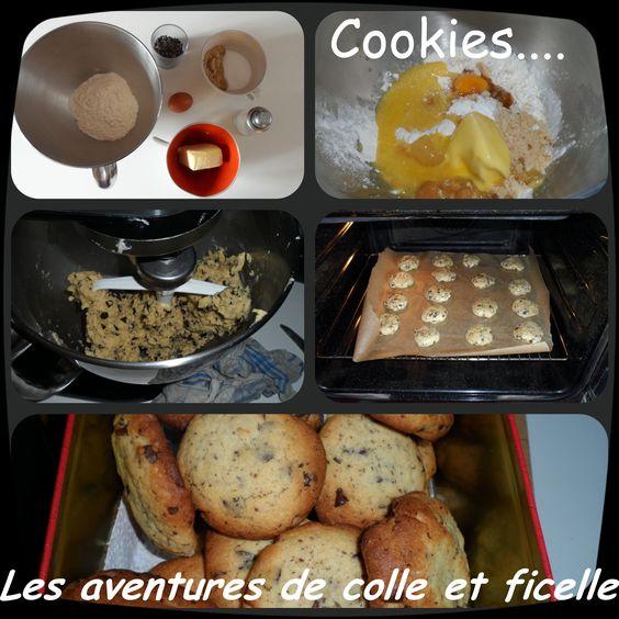 cookies inratables!!! La recette en image c'est par ici: