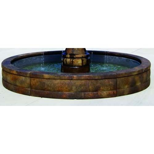 Fountain Basins 6 Or 8 Call Text For Shipping In 2020 Basin Fountain Fiberglass