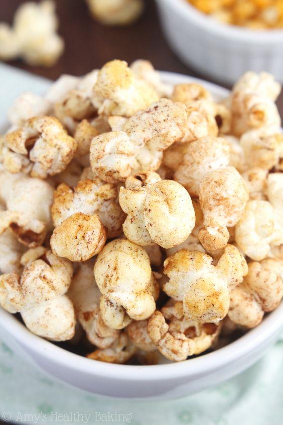 Churro popcorn: