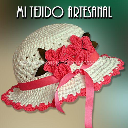 M s de 100 modelos de gorritos tejidos al crochet para - Gorritos bebe ganchillo ...
