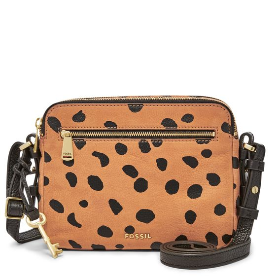 Fossil Piper Toaster Bag in Cheetah