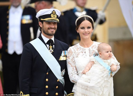 Hours after the birth, Carl Philip held a press conference at the hospital to…