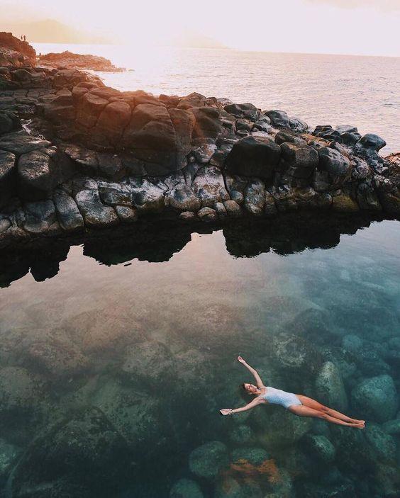 """A Mermaids Bath  with tentree ambassador @gypsea_lust"" https://www.instagram.com/p/BCqvsIhh4G3/"