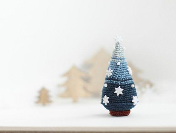 Christmas Tree, Crocheted Christmas Tree, Christmas decoration