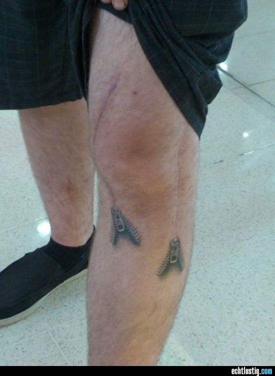 Narbe wird zum Reißverschluss Reissverschluss Pinterest Tattoo - zip bed designer bett reisverschluss