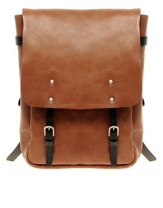Ally Capellino Hugh Backpack:  Postbag, Fall Style, Leather Backpacks, Leather Bags, Ally Capellino, Backpack Ally, Bags Backpacks
