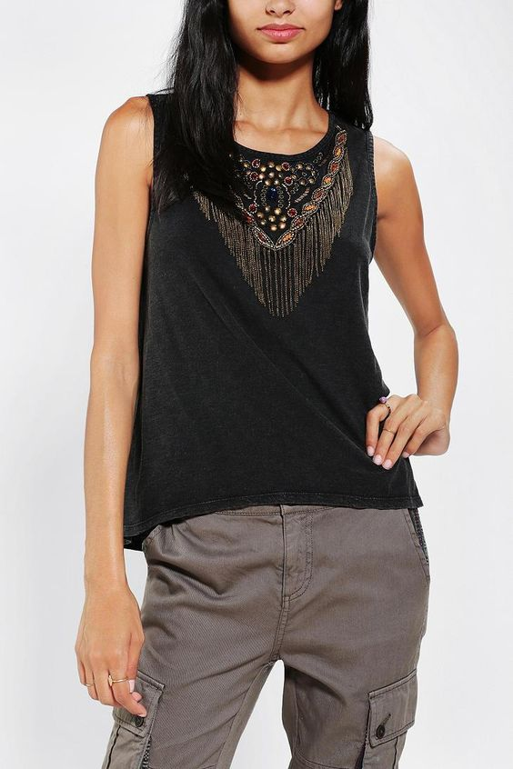 Ecote Kanya Muscle Tee #urbanoutfitters
