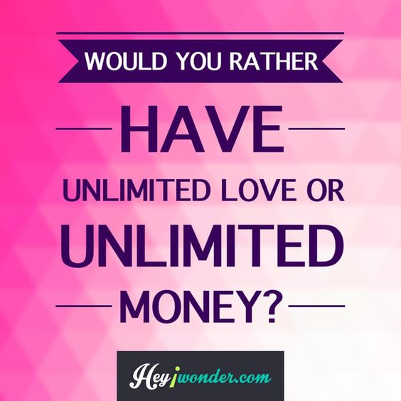 #wouldyourather #love #money #fortheloveofmoney #pollquestion #funquestions