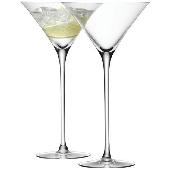 LSA Cocktail Glass 275ml Clear (Set of 2) (¥4,460) ❤ liked on Polyvore featuring home, kitchen & dining, drinkware, drinks, food, lsa international, cocktail glass and glass drinkware