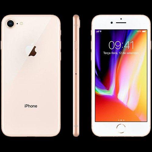 Iphone 8 64gb Dourado Tela 4 7 Ios 4g Camera 12mp Apple No Submarino Com Iphone 8 Iphone Celular Smartphone