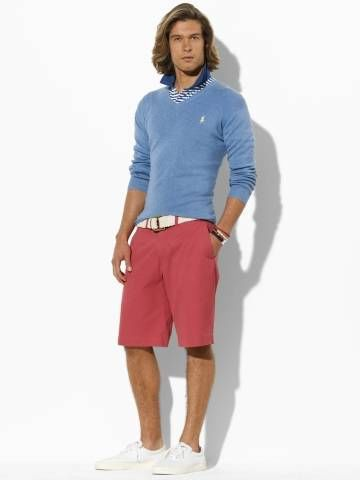 Mens Shorts Red - The Else