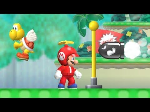 Newer Super Mario World Wii Walktrough 08 Youtube Bimby