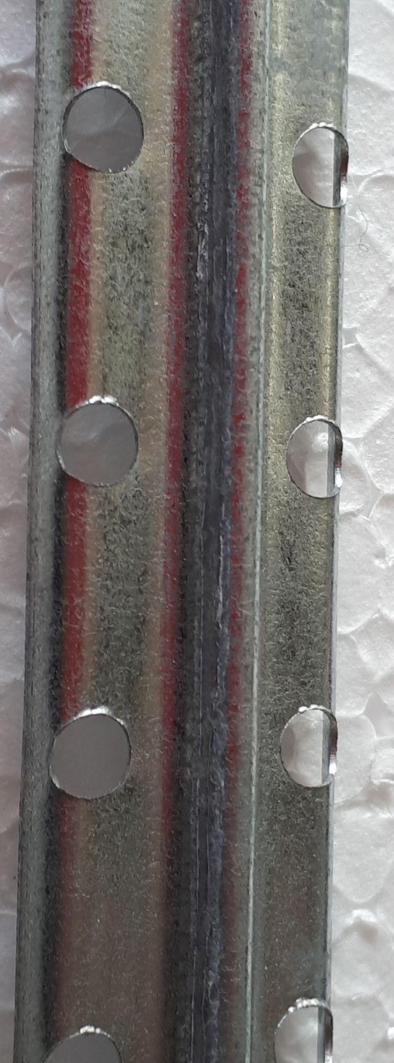 Vezetősín 6 illetve 10 mm-es