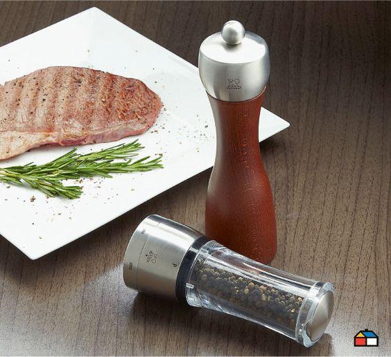 Un set de salero y pimentero no puede faltar en tu mesa