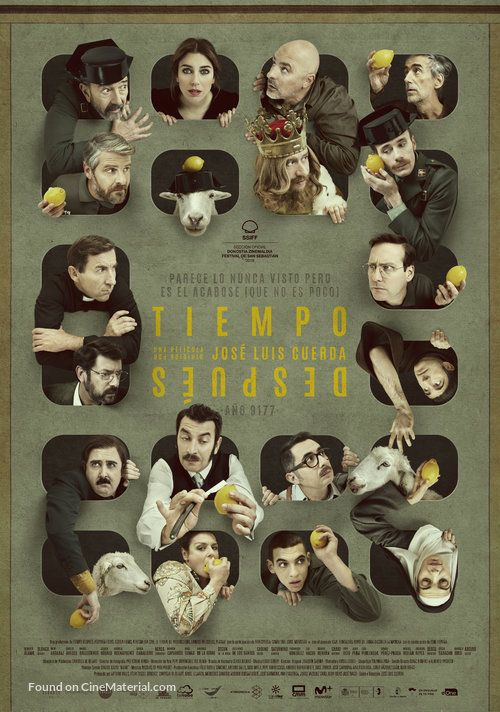 High Resolution Spanish Movie Poster Image For Tiempo Despues Spanish Movies Movies Free Movies Online