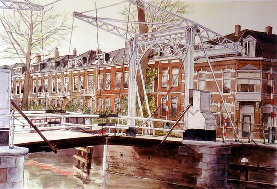 Wout Heinen, Leidschekade Utrecht