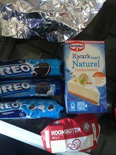 Baking goodies: Oreo kwarktaart