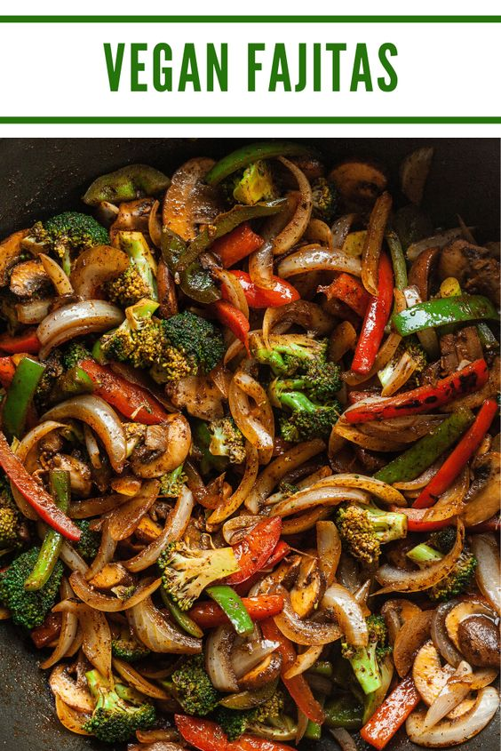 Vegan Fajita Recipe