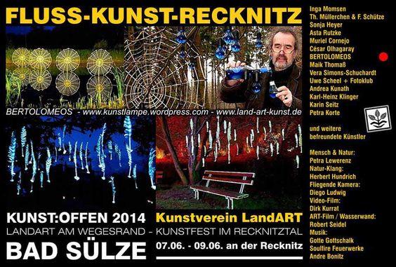 Kunst Offen 2014 | Kunst Offen – Fluss – Kunst -BERTOLOMEOS