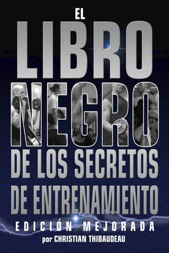 PDF, El Libro Negro de los Secretos de  Entrenamiento