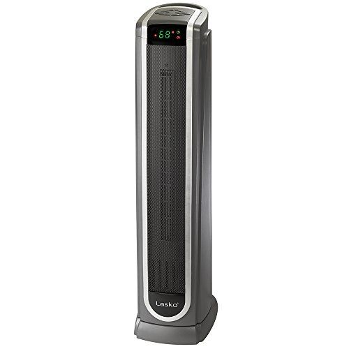 Lasko Ceramic Tower Space Heater With Logic Center Digital Remote Control Features Built In Timer And Oscillation 7 3 L X 9 2 W X 29 75 H Black 5572 In 2020 Space Heater Tower Heater Lasko