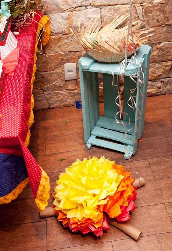 Festa de aniversário com tema junino: veja dicas de decoração - Mães - GNT: