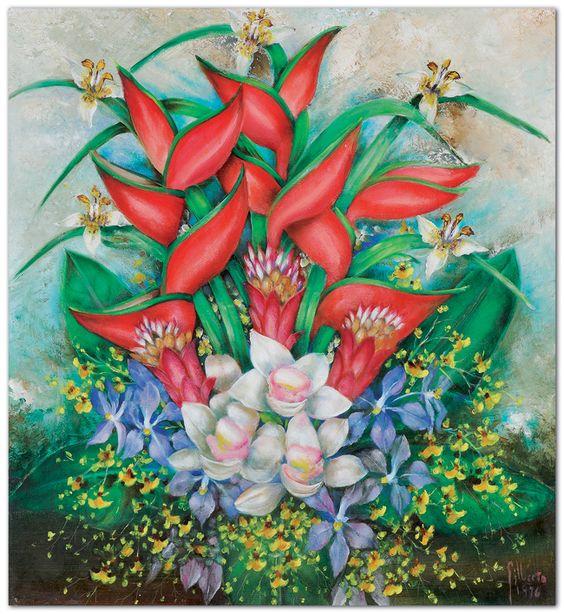 Natureza Morta, 1976 Gilberto Trompowsky (Brasil, 1912- 1982) óleo sobre eucatex