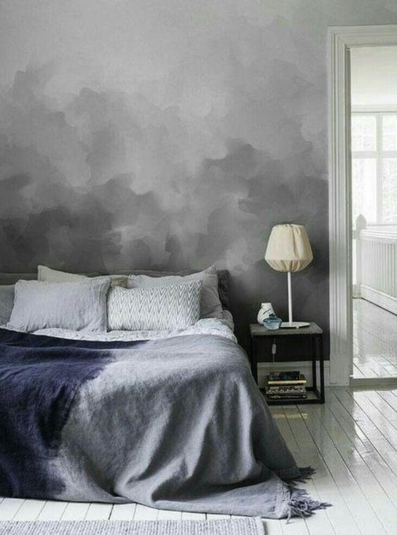 Dark Clouds Wall Mural Wall murals, Cloud and Dark - schlafzimmer mit amp uuml berbau neu