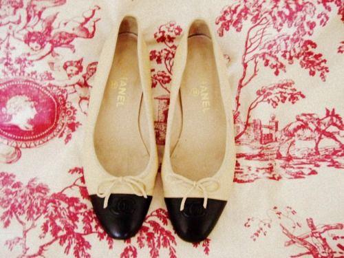 Chanel Ballet Flats.  Sweet.