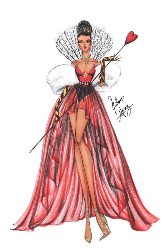Queen of hearts by frozen-winter-prince  Be Inspirational❥ Mz. Manerz: Being well dressed is a beautiful form of confidence, happiness & politeness