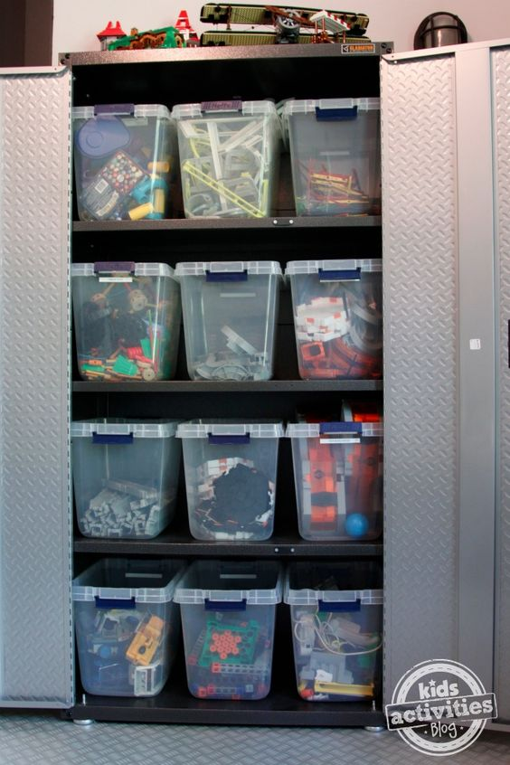 Toy storage in room for 3 boys - Kids Activities Blog