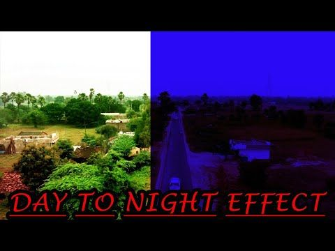 Day To Night Effect In Filmora 9 Luma Key Effect How To Connect Day To Night In Filmora9 Hindi Youtube In 2021 Night Day Hindi