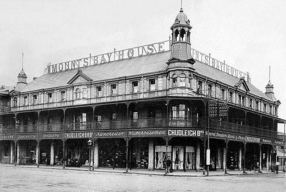 Mounts Bay Hotel Pritchard Street in 1909 #landscapephotography #african #landscape #photography
