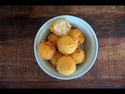 Getuk Ubi Kayu Fried Cassava Fritters Youtube Fritter Recipes Fritters Snack Recipes