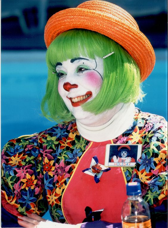 European Whiteface Clown