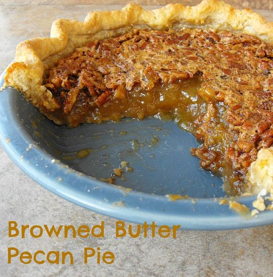Browned Butter Maple Pecan Pie from @Kristen Baker (Frugal Antics ...