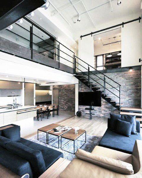 Top 70 Best Loft Ideas Cool Two Story Designs Loft Design Apartment Design Modern Loft