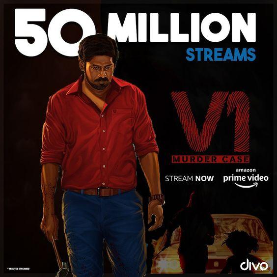'V1' garners over 50 million streams on Amazon Prime Video