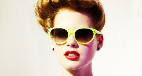 Matthew Williamson neon sunnies
