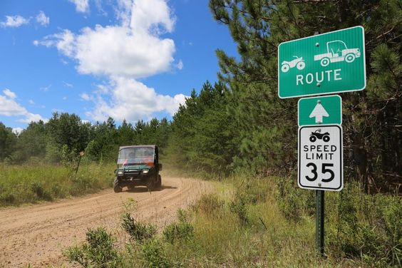 Find Vilas County Atv Utv Trails That Connect St Germain Conover Phelps And Land O Lakes Vilas County Wisconsin Route