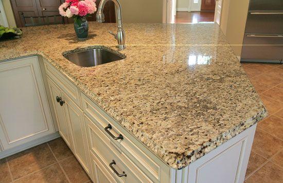 Gold Granite Countertops : New venetian gold granite kitchen countertops