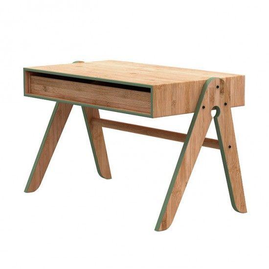 Geo's Tisch - Grün Dänisches Label 'We Do Wood'