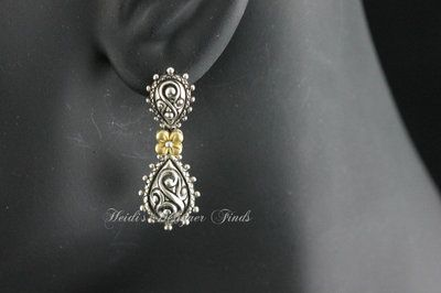 Check out these beautiful Barbara Bixby Dangle Earrings.From jeans to formal attire, these earrings go with everything in your closet. Starting bid is .99!
