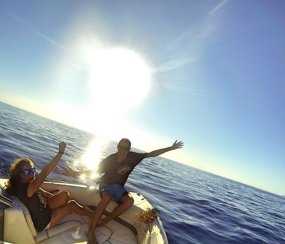 #alquilerdebarcos en #Ibiza con #ibizasunboats