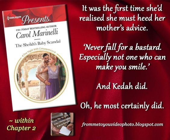 THE SHEIKH'S BABY SCANDAL by Carol Marinelli -- Read my #bookreview here: http://frommetoyouvideophoto.blogspot.com/2016/09/idolizing-in-one-night-with.html  #Purchase a copy here: -- Amazon (US) #Kindle: http://amzn.to/2c7EqEL  #romance #romancenovels #contemporary #contemporaryromance #womensfiction #sheikh #babyscandal #unplannedpregnancy #pregnant #OneNightWithConsequences #SheikhsBabyScandal #CarolMarinelli #Harlequin #HarlequinPresents